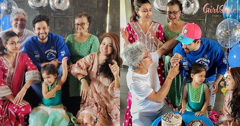 Kunal Kemmu Celebrates Birthday With Family, See Pics