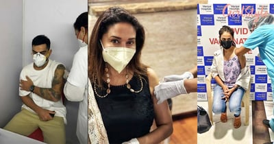 Indian Celebs Share Vaccination Photos & Inspire People To Get The Jab