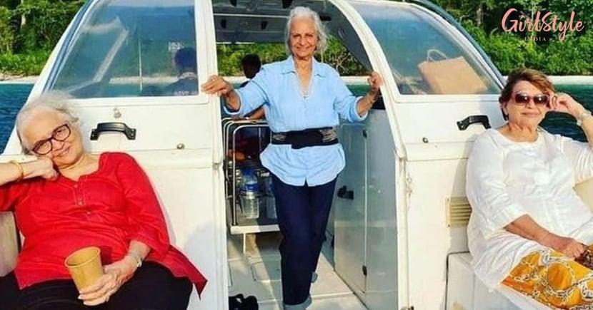 Waheeda Rehman, Asha Parekh and Helen's Summer Vacation Pics Will Give You Major Dil Chahta Hai Feels