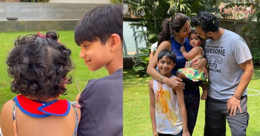 Shilpa Drops A Video Of Viaan & Samisha And It's Adorable, Watch