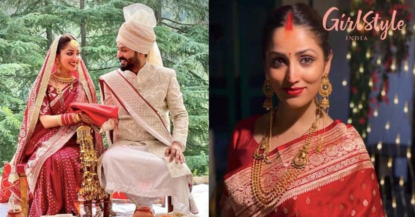 Yami Gautam Looks Like A Dream In Her Bridal Avatar For Traditional Himachali Wedding With Aditya Dhar