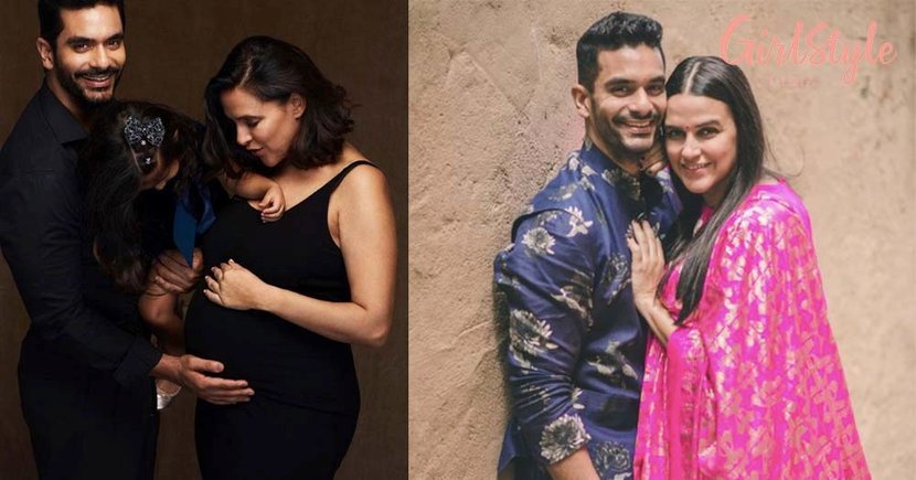 Neha Dhupia & Angad Bedi Announce Second Pregnancy With An Adorable Family Portrait & We Can't Keep Calm!