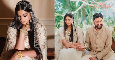Shaadi Mubarak: Pictures Of Rhea Kapoor & Karan Boolani As Husband & Wife In Regal Outfits Are Sure To Win Your Heart