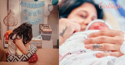 Kishwer Merchant Shares A Video Of Her Family Welcoming The New Baby And It's Super Adorable